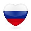Herz-Symbol Russlands