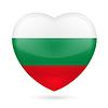 Herz-Symbol Bulgarien