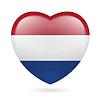 Herz-Symbol der Niederlande