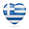 Herz-Symbol von Griechenland
