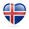 Herz-Symbol von Island