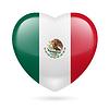 Herz-Symbol von Mexiko