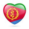 Herz-Symbol von Eritrea