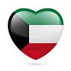 Herz-Symbol von Kuwait