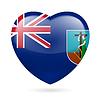 Herz-Symbol von Montserrat