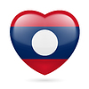 ID 4222893 | Heart icon of Laos | Klipart wektorowy | KLIPARTO