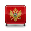 Metal-Ikone von Montenegro