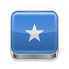 Metal-Ikone von Somalia