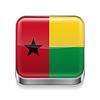 Metal-Ikone von Guinea-Bissau