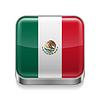 Metalllogo von Mexiko