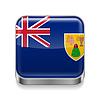 Metal-Ikone der Turks-und Caicosinseln