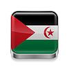Metal-Ikone der Demokratischen Arabischen Republik Sahara