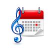 ID 4258436 | Ikona wydarzenie muzyczne | Klipart wektorowy | KLIPARTO