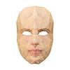 Polygon-Gesichtsmaske