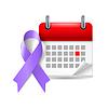 Violet Bewusstseinsband und Kalender