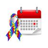 Puzzle Bewusstseinsband und Kalender