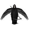 ID 4329469 | Zwei geflügelte Engel des Todes | Stock Vektorgrafik | CLIPARTO