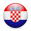 Runde glossy Kroatien