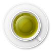 Tasse grünen Tee