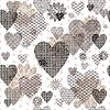 Векторный клипарт: Бесшовные рисунком Valentine