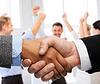 商人和商人握手 | 免版税照片