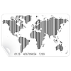 Векторный клипарт: Карта мира в концепции штрих