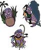 Comic nischen Ureinwohner