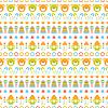 Dziecko bez szwu wzór | Stock Vector Graphics