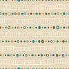 Nahtlose Hintergrund von Hand gezeichneten Netze und Punkte, endlos