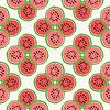 Nahtlose Muster der Farbe Wassermelonen