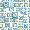 Векторный клипарт: Бесшовные декоративный цветочный узор