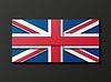 Moderne Großbritannien Flagge