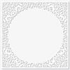 Векторный клипарт: Бумага цветочные кадр. Векторное изображение