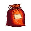 Tasche mit Geschenken | Stock Vektrografik
