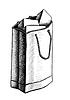 Papiertüte mit Geschenken | Stock Vektrografik
