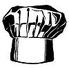 Hut von Küchenchef, togue | Stock Vektrografik