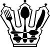 Besteck - Crown | Stock Vektrografik