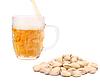 Bier und Pistazien | Stock Foto