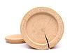 Boden aus Holz Birkenrinde Behälter und sein Deckel | Stock Foto