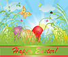 Easter background   Stock Vector Graphics
