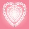 Spitzen-Herz