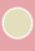 Vektor Phantasie Etikett Spitze rosa Hintergrund A4