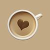 Porcelana biały kubek na kawę | Stock Vector Graphics