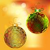 Licht Weihnachten Hintergrund mit Lichtkugel