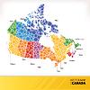 Landkarte von Kanada