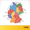 Landkarte Deutschlands
