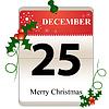 Weihnachtskalender Datum