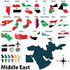 Karten für Nahost