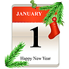 Neues Jahr, Datum,
