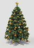 Новогодняя елка | Иллюстрация